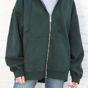 Green Christie zip up
